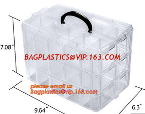 China plastic storage boxes, box plastic, plastic compartment storage box, Waterproof Plastic Storage Tool Box With Wheels supplier