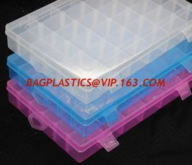 China transparent polypropylene plastic storage box, Eco-Friendly Small Decorative Custom Printed Clear Plastic Storage Box supplier