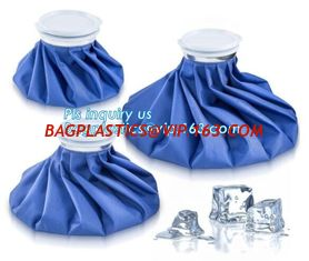 China Ice Bag Packs - Set of 3 Hot & Cold Reusable Ice Bags Size 6, 9 and 11 inch - No Leaks, No Drips, non-toxic plastic cool supplier