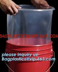 China Bucket Liner Disposable Pail Liner, Drum Inserts & Liners, Plastic Protective Liner for Drums, Rigid Drum Liners | Rigid supplier