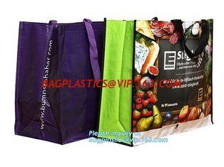China Cheap Price Custom Printed Eco Friendly Shopping Non Woven Bag, recycled custom printing grocery tote shopping pp non wo supplier