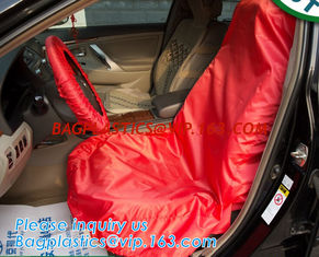 China car seat cover/FABRIC seat cover/non-woven car seat cover,Auto Repair Disposable Plastic Car Seat Cover Suppliers and Ma supplier