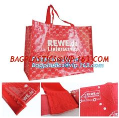 China Hot Sale Promotional Colorful Custom Reusable PP Woven Shopping bag,Tote Fabric Polypropylene Laminated PP Non Woven Bag supplier