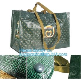China Promotional plastic laminated custom shopping pp woven bag,OEM ODM Customized eco friendly pp woven supermarket shopping supplier