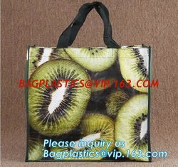 China Fashion pp non woven shopping bag,grocery laminated non woven bag,Logo Printed Shopping Bag,Tote Bags,fabric Woven Bag supplier