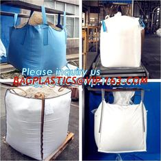 China FIBC Recycle Container 1 Ton PP Woven Jumbo Big Bags For Agriculture And Industrial Use,100% new material 1 ton 1.5 ton supplier