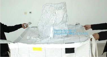 China pp woven big bag jumbo bag for sulphur and cement,Wholesale 1 ton used pp woven sack big FIBC bean bulk bag, bagease supplier