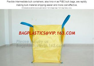China uv resistant pp woven big bags 1000kg for peat,Cheap price 1 ton jumbo bags industrial FIBC sand pp woven big bag, BAGPA supplier