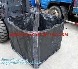 China New construction waste skip bag/pp woven jumbo big bag with liner,fibc jumbo PP woven big bag super sack for cement,PACK supplier