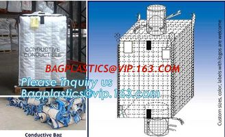 China BITUMEN BIG BAGS, FOOD GRADE BIG BAGS, OIL BAG, BOTTOM SPOUT,INNER LINER BAG,FERTILIZER BAG, VENTILATED BREATHING BAG BI supplier