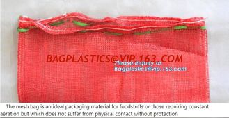 China Plastic mesh net raschel bag in roll for automatic packing,Plastic raschel raschel PE fruit mesh net bag, bagease, pack supplier