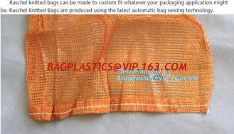 China raschel bag,pe raschel mesh bag for fruit and vegetable,Factory price good quality raschel mesh bags for sale, bagease supplier