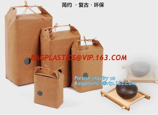 China 25kg kraft paper bag Cement,Flour,Rice,Fertilizer,Food,Feed Bag,customized logo printing durable moisture proof,bagease supplier