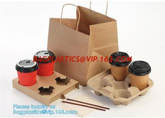 China kraft paper shopping bag with cotton handle,Brown Kraft Paper Bags For Shopping Merchandise Party Gift Bags, bagease pac supplier