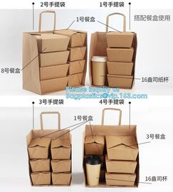 China Custom Logo Printed Grocery Packaging Craft Brown Kraft Paper Shopping Bag with Handle,Kraft Paper Shopping Bag , Paper supplier