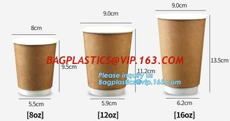 China Double Single Wall Disposable Coffee Paper Cup Hot Coffee Cups 8oz Takeaway Cups,Amazon Hot Sale 700ml Milk Paper Cup Di supplier