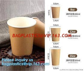 China Custom Logo Printing Disposable Single Wall Small Tasting Paper Cup Wholesale,12Oz Custom Printed Coffee Paper Cups With supplier