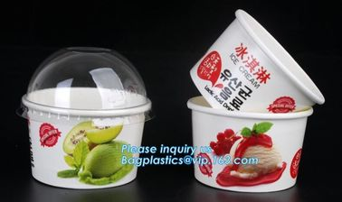 China Customized compostable biodegradable 12 oz dessert icecream ice cream cup with lid for ice cream icecream bagease packa supplier