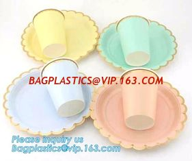 China fancy paper plates,custom printed disposable paper plates,biodegradable eco friendly bagasse plates custom sugarcane dis supplier