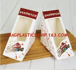 China Food Grade Takeaway Disposable Plastic Fast Food container /lunch box/salad/sandwich Packaging bento box sandwich, pac supplier
