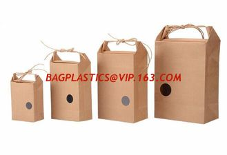China kraft rice packing bag,Custom logo rice bags stand up colorful printing kraft paper vacuum biodegradable food packaging supplier