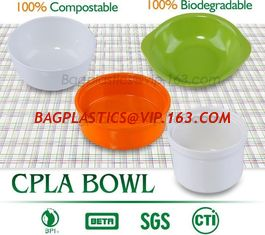 China PLA unique clear fruit salad bowl,FDA SGS certificated disposable biodegradable CPLA coffee stirrer for paper cups pac supplier