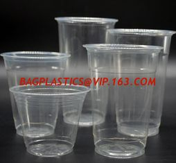 China 300ml CPLA Disposable Tea Cup New Biodegradable Compostable Frosted Cup,cup lid manufacturers fit for paper coffee cup supplier