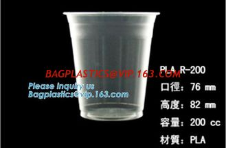 China Biodegradable Disposable Cornstarch CPLA Cup,90mm CPLA hot drink cup lid for 10oz 12oz 16oz 20oz cup, bagplastics, packa supplier
