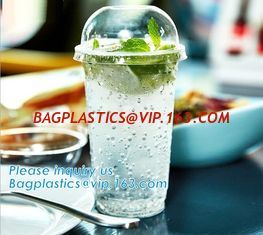 China Biodegradable And Compostable Opaque Yellow Coffee Cup Lid With Nice Design,Cup lid ( PLA cup lid), bagease bagplastics supplier