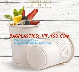 China New products cornstarch plastic 12oz nature biodegradable drinking cup,Disposable cups plastic biodegradable cups PLA pa supplier