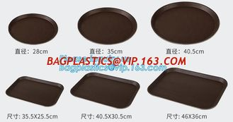 China PP plate, PS plate, PP late, coffee plate, fast food plate, cup plate,roudn plate, square plate,anti slip design bagease supplier