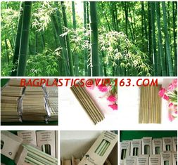 China Organic Reusable Hand-Crafted Natural Eco Bamboo Drinking Straws,Natural Bamboo Drinking Straws with customized logo pac supplier