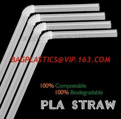 China PLA straw biodegradable strawCorn starch 100% biodegradable non plastic drinking straw PLA straws, supplier