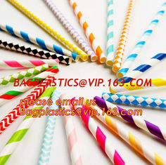 China wholesale party biodegradable cocktail drinking paper straws,Disposable Wrapped India Biodegradable Bulk Paper Straws supplier