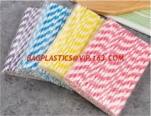 China Food Grade Natural White Solid Color Drinking Paper Straw,High quality disposable eco paper straw,Straw Disposable Biode supplier