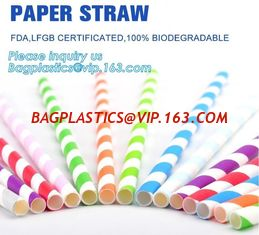 China biodegradable paper drinking straw, paper for paper straw, disposable paper straw,Bendy Flexible Paper Straws For Drinki supplier