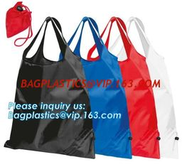 0ae4aff819d Designs Easy carry small foldable pocket tote polyester reusable folding  shopping bag