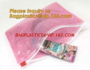 China Protection Usage For Packaging Slider Bags Air Bubble Bags,Biodegradable pvc made shock resistance transparent clear zip supplier
