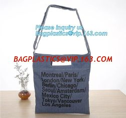 China Fashion zipper shoulder bag heavy duty canvas tote bag shopping canvas bag with PP webbing strap bagease bagplastics pac supplier