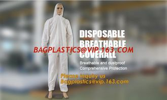 China disposable breathable coverall,China Supplier for Disposable Non Woven Coverall Suit,disposable wholesale waterproof cov supplier
