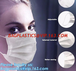 China FDA approval medical non woven surgical disposable 3 ply earloop face mask,Disposable 3ply medical earloop face mask supplier