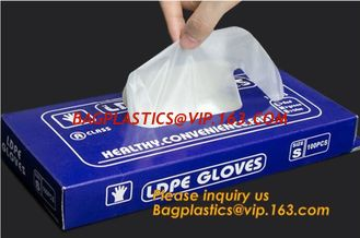 China LDPE Gloves,PE Disposable Gloves/polythene disposable gloves,HDPE/LDPE Disposable PE Glove,disposable plastic PE materia supplier
