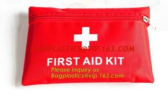 China First aid trauma kit canvas pack with medical blanket,first aid kits for family medical grade,Camping Hiking Car First A supplier