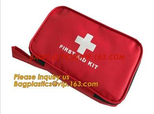 China emergency Medical Bag first aid pack mini,Family pack PE first aid adhesive bandage PE wound plaster waterproof PE band supplier