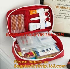 China EVA First Aid Kit Packed with hospital grade medical supplies for ,portable car travel military camping survival emergen supplier