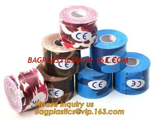 China Kinesiology tape,OEM for Famous Brand Printed Kinetic Tape Kinesiology Tape Sports Tape,medical waterproof cotton elasti supplier