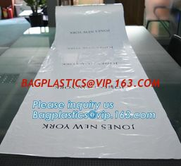 China Dry cleaning bag Plastic disposable suit bags,Wholesale cheap plastic dry clean garment storage bag,Laundry dry clean pl supplier