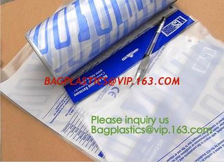 China Auto Bags-White Opaque Front / Clear Back Bags for Autobag Machines,Preopened poly bag auto Bag on a roll,Accessories Pa supplier
