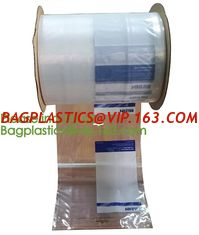 China Pre-Opened Bags For Automated Packaging Equipment,LLDPE plastic pre perforated Preopened polybag auto Bag on a Roll supplier