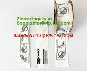 China Pre Opened Plastic Bags on Rolls - Pre Open Auto Machine Bags,Rollbag Pre-Opened Bags On A Roll For Auto Baggers bagease supplier